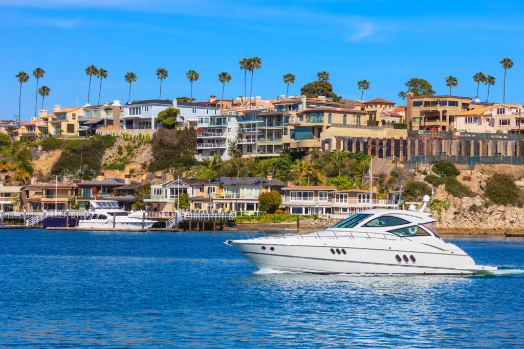 Newport Harbor Boat