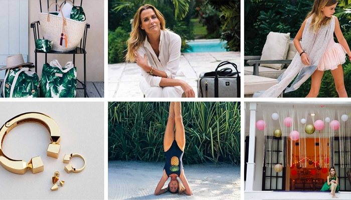 India Hicks Trunk Show in the Pelican Courtyard