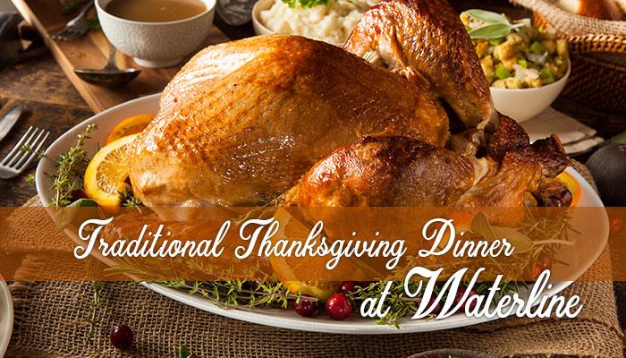 Thanksgiving Dinner at Waterline