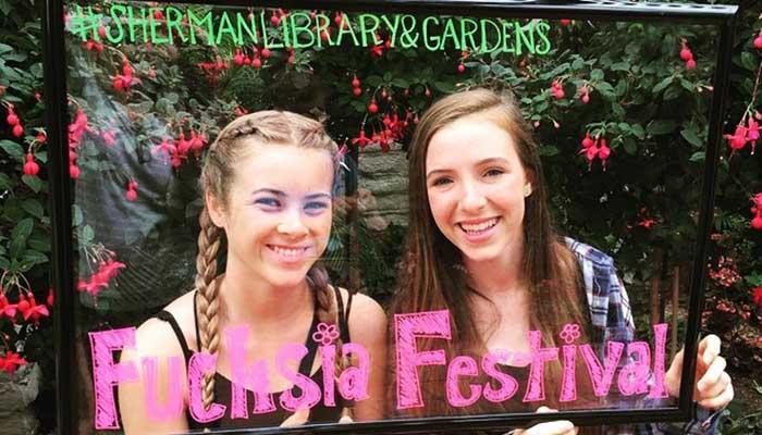 Sherman Library & Gardens Fuchsia Festival