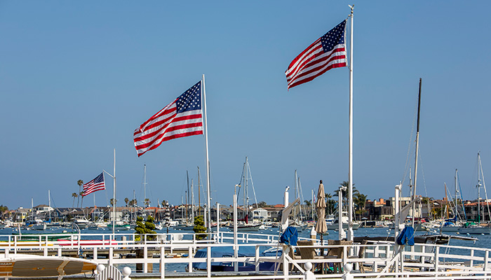 Memorial Day BBQ honoring our Veterans on Balboa Island
