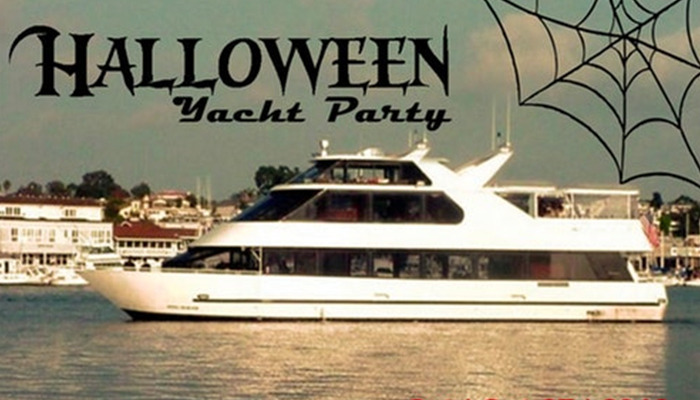 Halloween Yacht Party