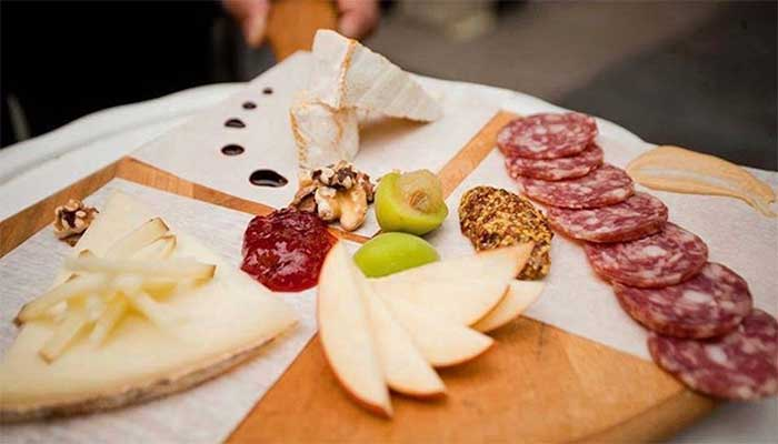 Ultimate Cheese & Charcuterie Backyard Party at SideDoor