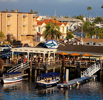 Newport Beach offers plenty of opportunities to enjoy a dock and dine experience