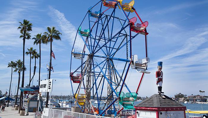 1 Off Rider At Balboa Fun Zone Ferris Wheel Visit Newport