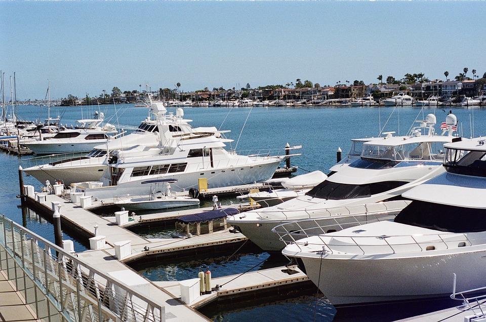 Boats in Newport Beach