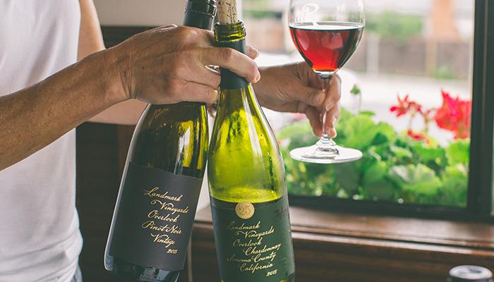 Landmark Vineyards Free Sampling at Rothschild's