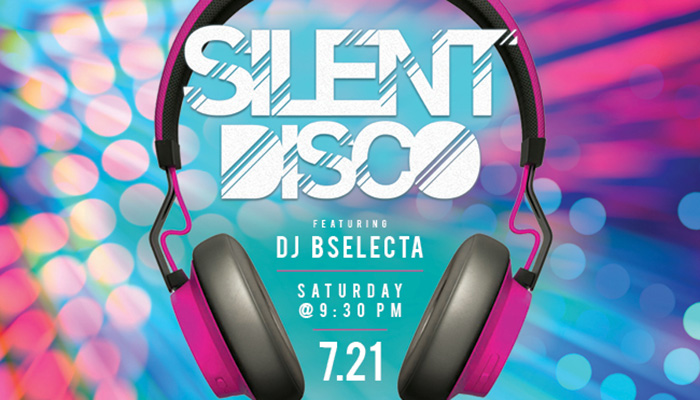 Silent Disco at Aqua Lounge