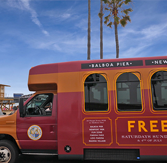 See the Sights and Ease Travel With the Balboa Peninsula Trolley