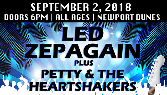 Led Zepagain & Petty & the Heartshakers at Newport Dunes