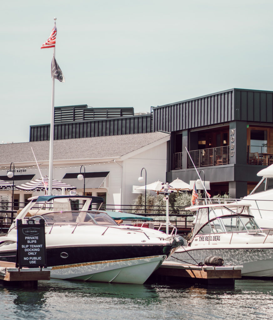 Newport Harbor Boating