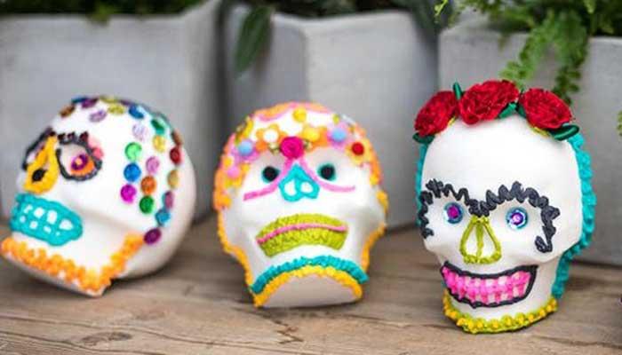 Sugar Skull Decorating Workshop at Roger's Gardens