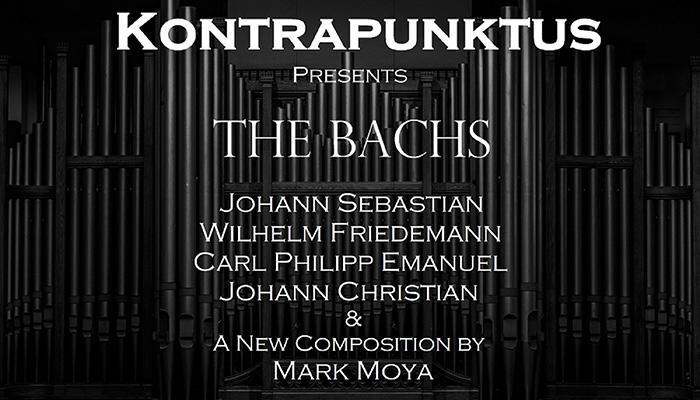 Kontrapunktus presents THE BACHS