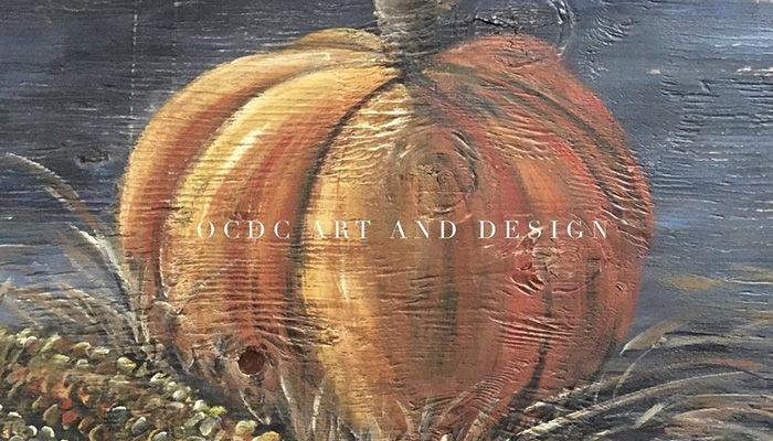 Rustic Pumpkin Paint Workshop