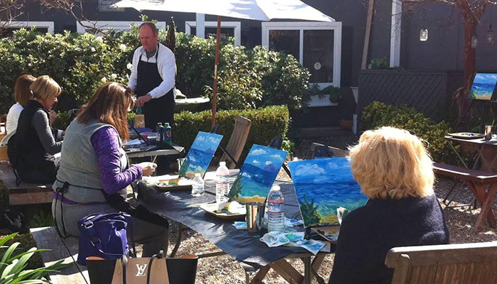 Luncheon of the Boating Party Friday at Seaside Gallery & Goods