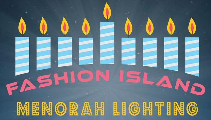 Menorah Lighting Ceremony at Fashion Island