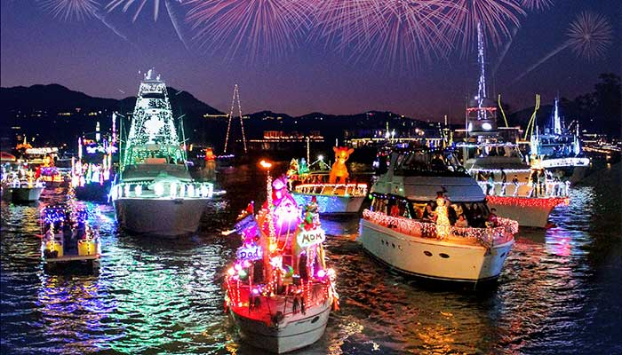 Newport Beach Christmas Boat Parade Sails Into its 110th