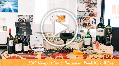 Newport Beach Restaurant Week Kick-Off Event
