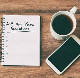 How to stay on track with New Year's Resolutions
