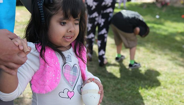 Sensory Easter Egg Hunt for Blind Kids at Newport Dunes