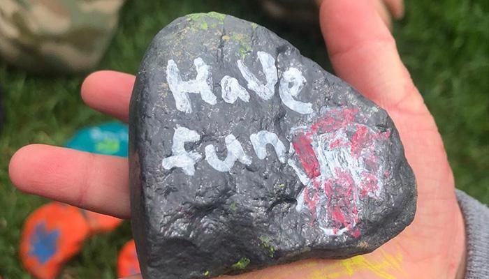 "Balboa Island ""The Kindness Rocks Project"""