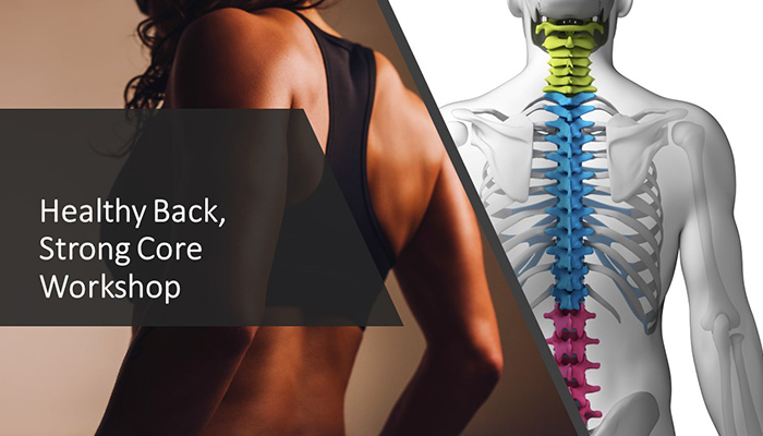 Healthy Back & Strong Core Yoga Workshop