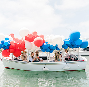 Recreating Lauren Conrad's Duffy Boat Party