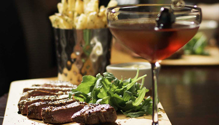 Taste of Manhattan at Fleming's Newport Beach