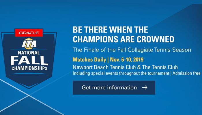 2019 Oracle ITA National Fall Championships