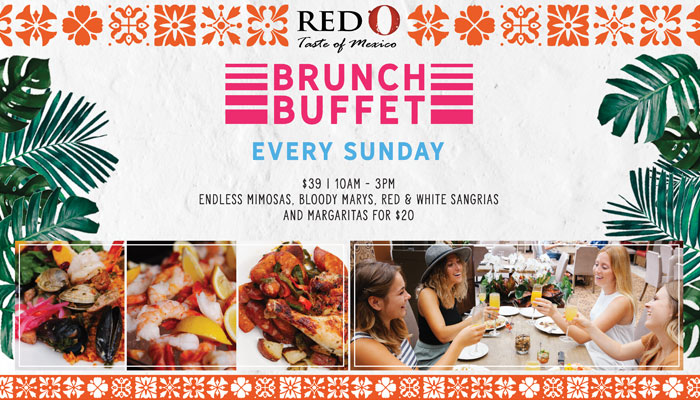 Red O – Weekend Brunch