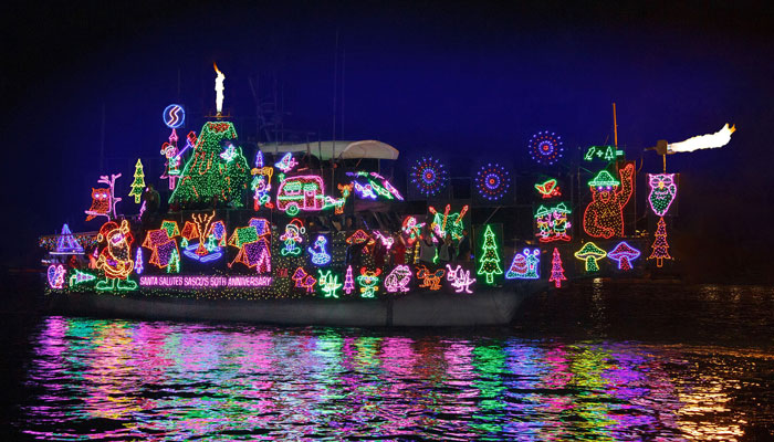 Newport Beach Boat Parade & Dinner at Sons of the American Legion
