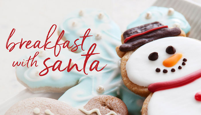 Breakfast with Santa at Fashion Island Hotel