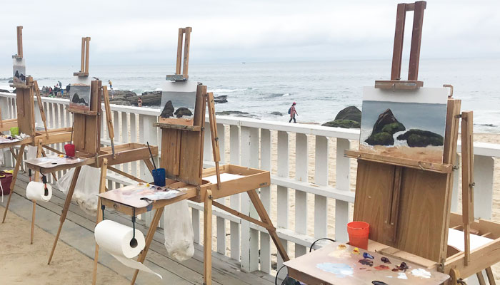 The Great Plein Air Art Experience – Holiday Edition