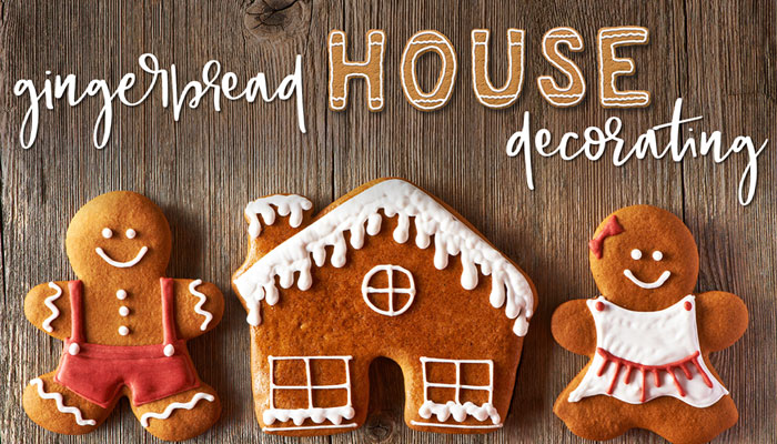 Gingerbread House Decorating at Fashion Island Hotel