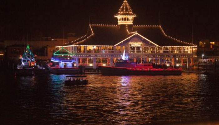 Christmas Eve Buffet Dinner at Hornblower