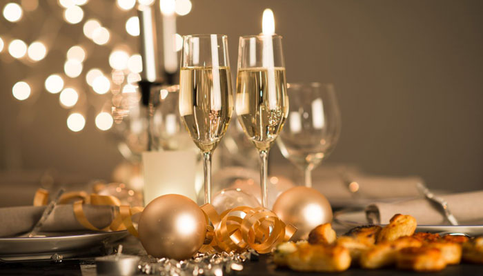 New Year's Eve Veuve Clicquot Champagne Dinner