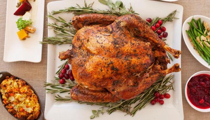 Oak Grill Thanksgiving Buffet Feast