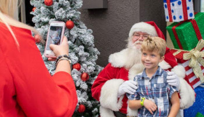 Brunch with Santa at Back Bay Bistro