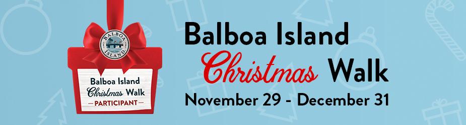 Balboa Island Christmas walk