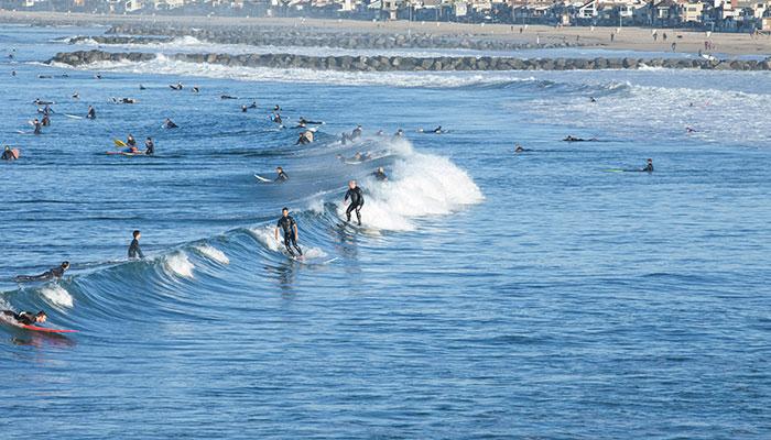 Newport Jetties Surf Cam