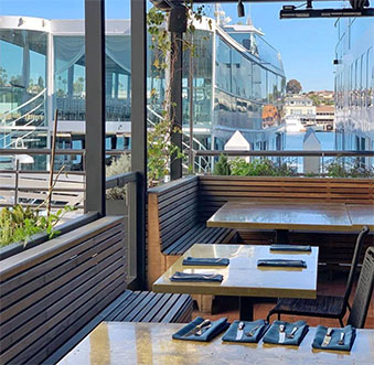 Open-Air Dining in Newport Beach