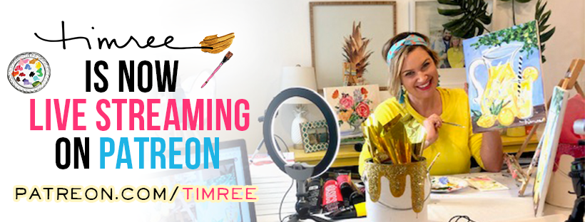 Newport Beach local artist Timree offering live streaming painting classes