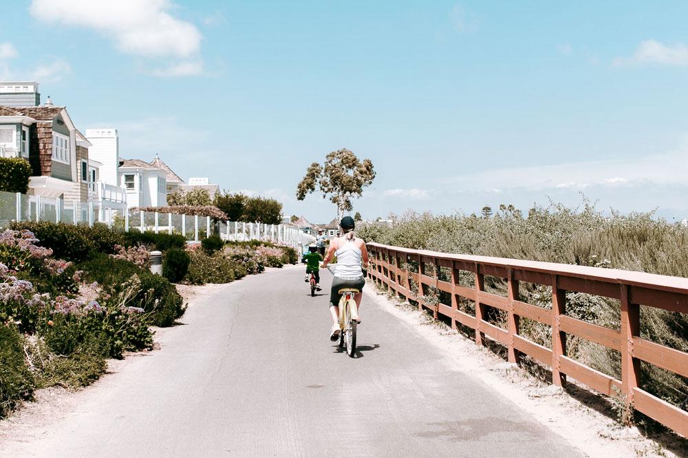 Biking In Newport Beach