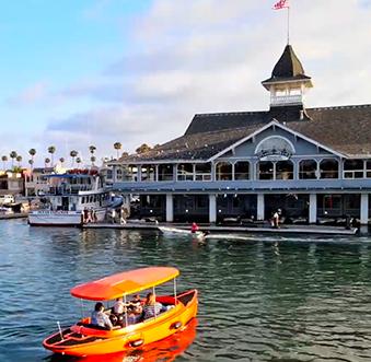 Dock & Dine in Newport Beach