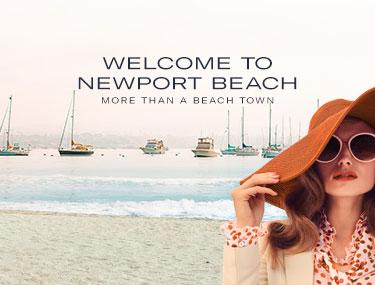 WELCOME TO NEWPORT BEACH