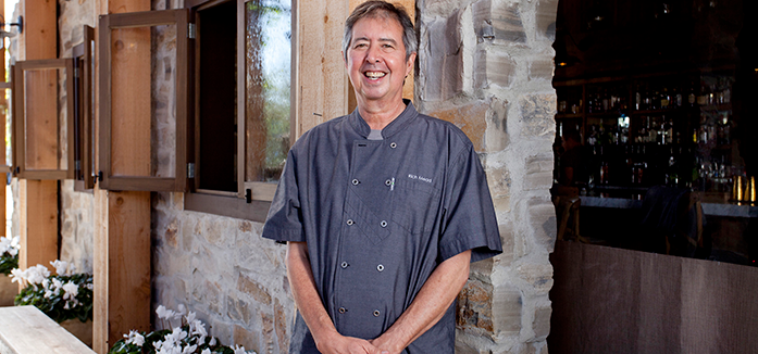 Chef Rich Mead & Farmhouse at Roger's Gardens