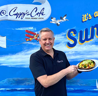 LOCAL TASTEMAKERS: Restaurateur Tim Campbell of Cappy's Cafe