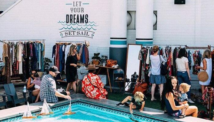 Fourth Fridays: Vintage Market on the Lido Deck